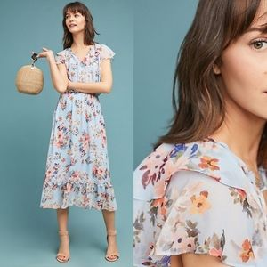 New Anthropologie Shoshanna Analise Dress $375